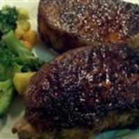Cajun Spiced Pork Chops Recipe